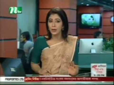 NTV Evening Bangla TV News Live 8 January 2014 Bangladesh News (видео)