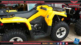 6. SOLD 2017 Can Am Outlander 570