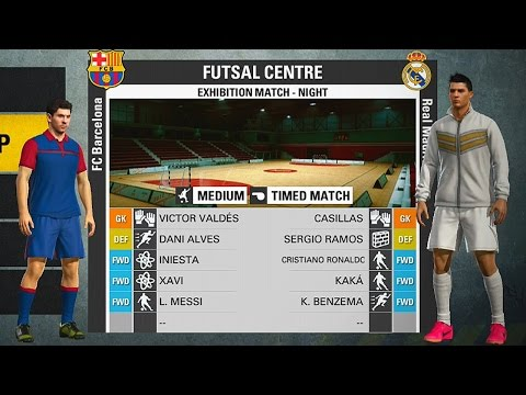 FIFA STREET - BARCELONA Vs REAL MADRID No FUTSAL !!! (Gameplay PS3/X360)