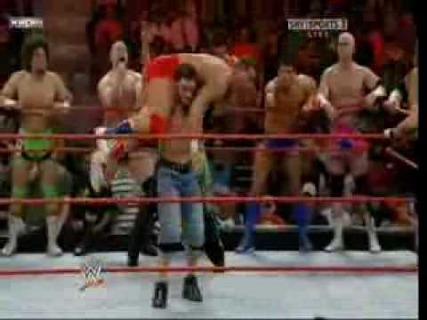 John Cena e Randy Orton vs RAW Roster