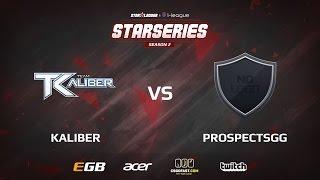 Kaliber vs Prospects, game 3