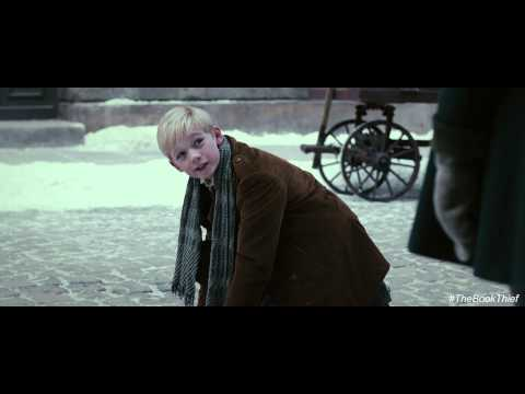 The Book Thief Clip 'Why Would I Want to Kiss You'