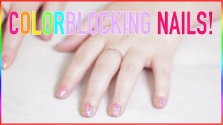 ✭✭Colorblocking NAIL Design✭✭ by Seventeen Magazine