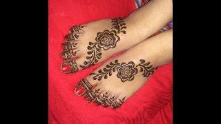 Mehndi Designs For Childrens Leg : Mehndi designs for kids legs videos bapse