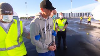 video: Australia deports murderer who decapitated teenager to Britain