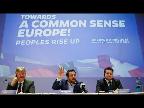 Επιχείρηση συσπείρωσης της ευρωπαϊκής ακροδεξιάς από Σαλβίνι…