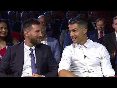 Lionel Messi amp Cristiano Ronaldo Joke At UEFA Champions League Draw