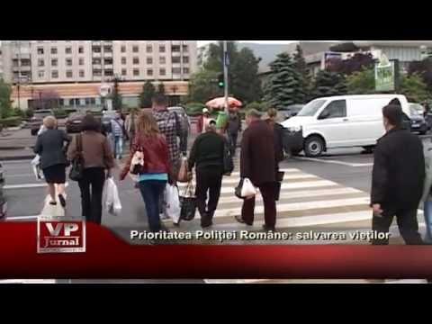 Prioritatea Politiei Romane: salvarea vietilor