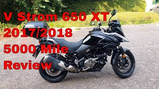 2. Suzuki V Strom 650 XT 2017 / 2018 Review