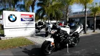 4. 2012 Triumph Street Triple R White