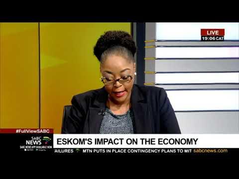 Eskom's impact on the economy: Dr. Khaya Sithole