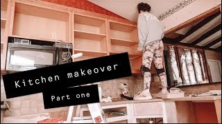1950's house RENOVATION DAY 6! Kitchen Makeover
