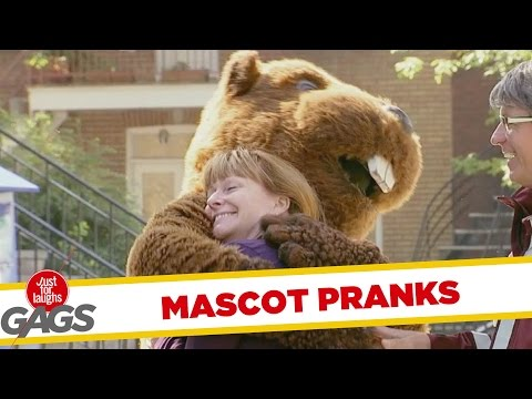 Best Mascot Pranks - Best Of Just For Laughs Gags
