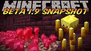 Minecraft Beta 1.9 prerelease - Nether update - Nether Brick and Mobs
