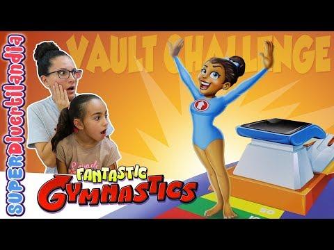 FANTASTIC GYMNASTICS 🏆 Vault Challenge de Hasbro! SUPERDivertilandia.