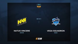 Natus Vincere vs Vega Squadron, Game 1, Dota Summit 7, EU Qualifier