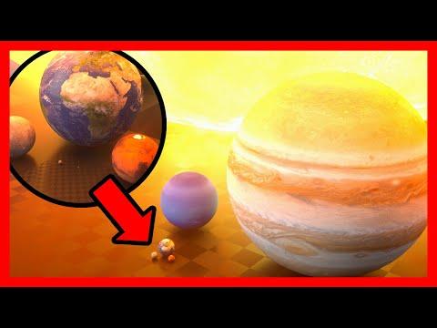 Сравнение размеров во Вселенной