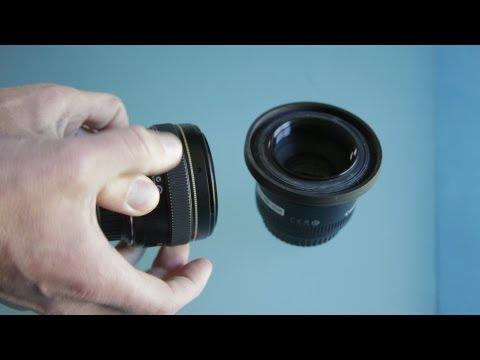 0 Canon 50mm 1.4 kontra Canon 1.8   porównanie obiektywów
