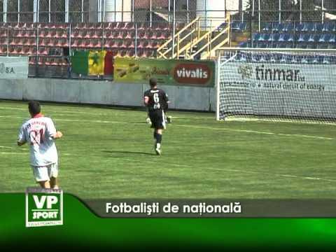 Fotbalişti de naţională