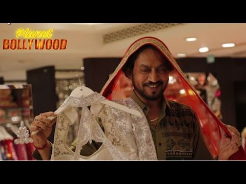 Irrfan Khan Wears A Saree For His Film's Promotion