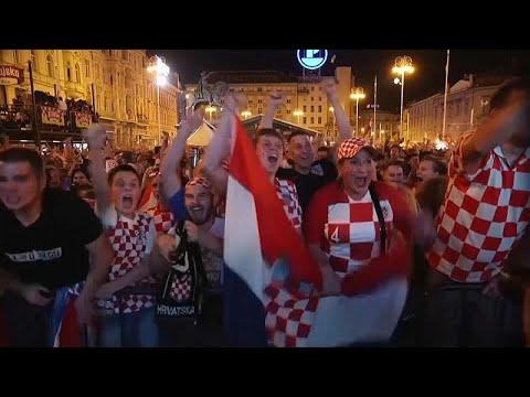 Μουντιάλ 2018: Ευτυχισμένοι Κροάτες και περήφανοι Άγγλοι…