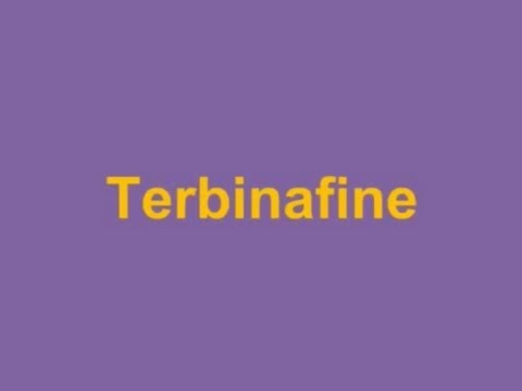 USMLE: Medical Video Lectures Pharmacology about Terbinafine by UsmleTeam