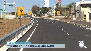 Trecho da rodovia Marechal Rondon em Bauru é liberado