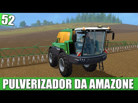 Amazone Pantera 4502 v1.2 Beleuchtung