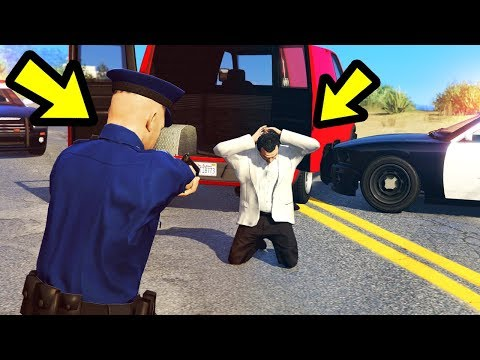 Playing GTA 5 as a POLICE OFFICER!! (Part 2)