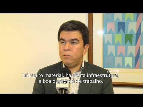 Membro da Confederação Sul Americana elogia estrutura da CBF
