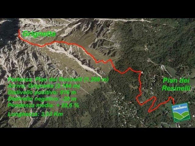 Dai Piani Resinelli alla Grignetta (cresta Cermenati)