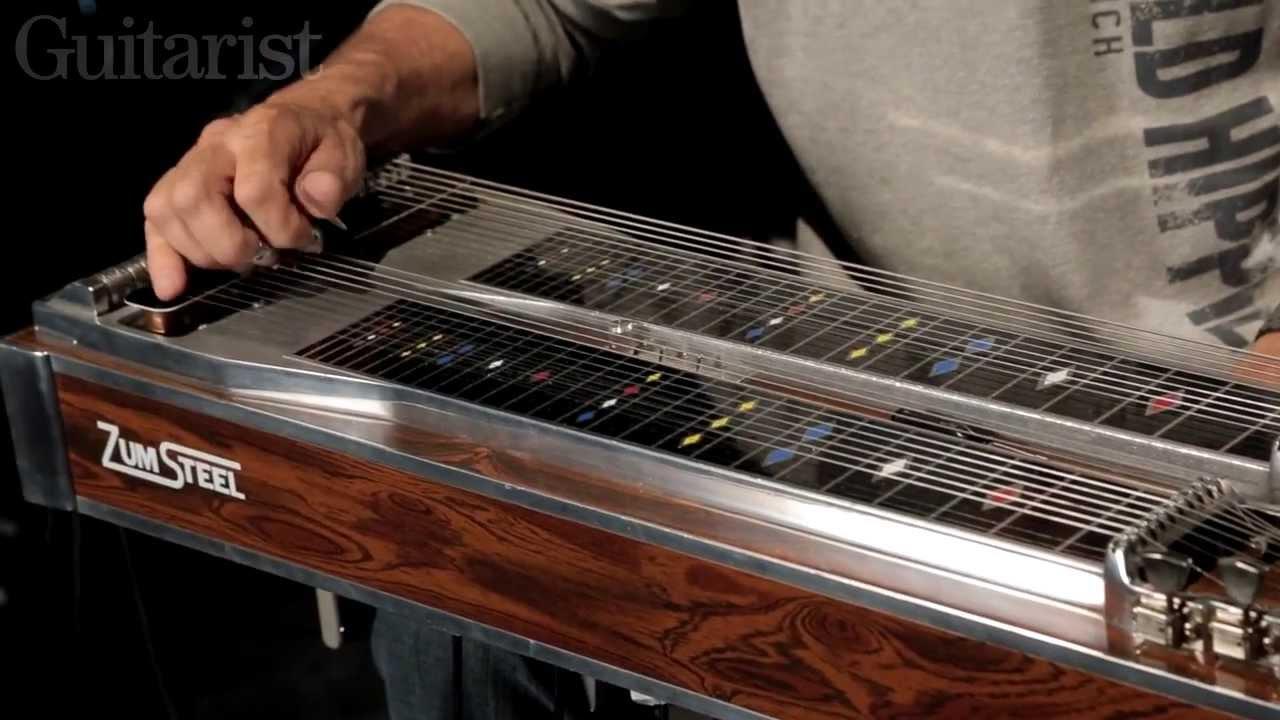 Steve Fishell explains how pedal steel guitar works