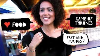 Nonton Eat & Meet with Nathalie Emmanuel ( Game of Thrones, Fast Furious 7 ) #AD Film Subtitle Indonesia Streaming Movie Download