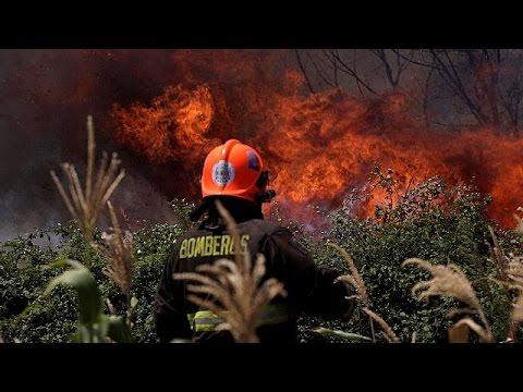 Χιλή: Βιβλική καταστροφή από την πύρινη λαίλαπα