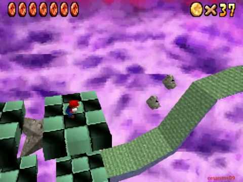 Letzte Rote Muenze Im 3 Bowser Leve Super Mario 64