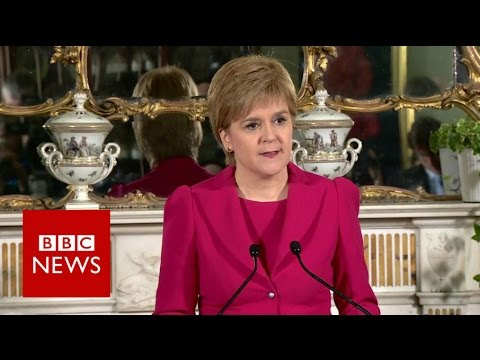 Nicola Sturgeon Confirms Second Referendum Request
