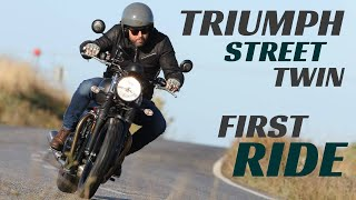 8. 2019 Triumph Street Twin First Ride