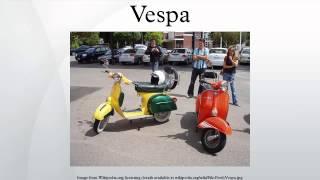 6. Vespa