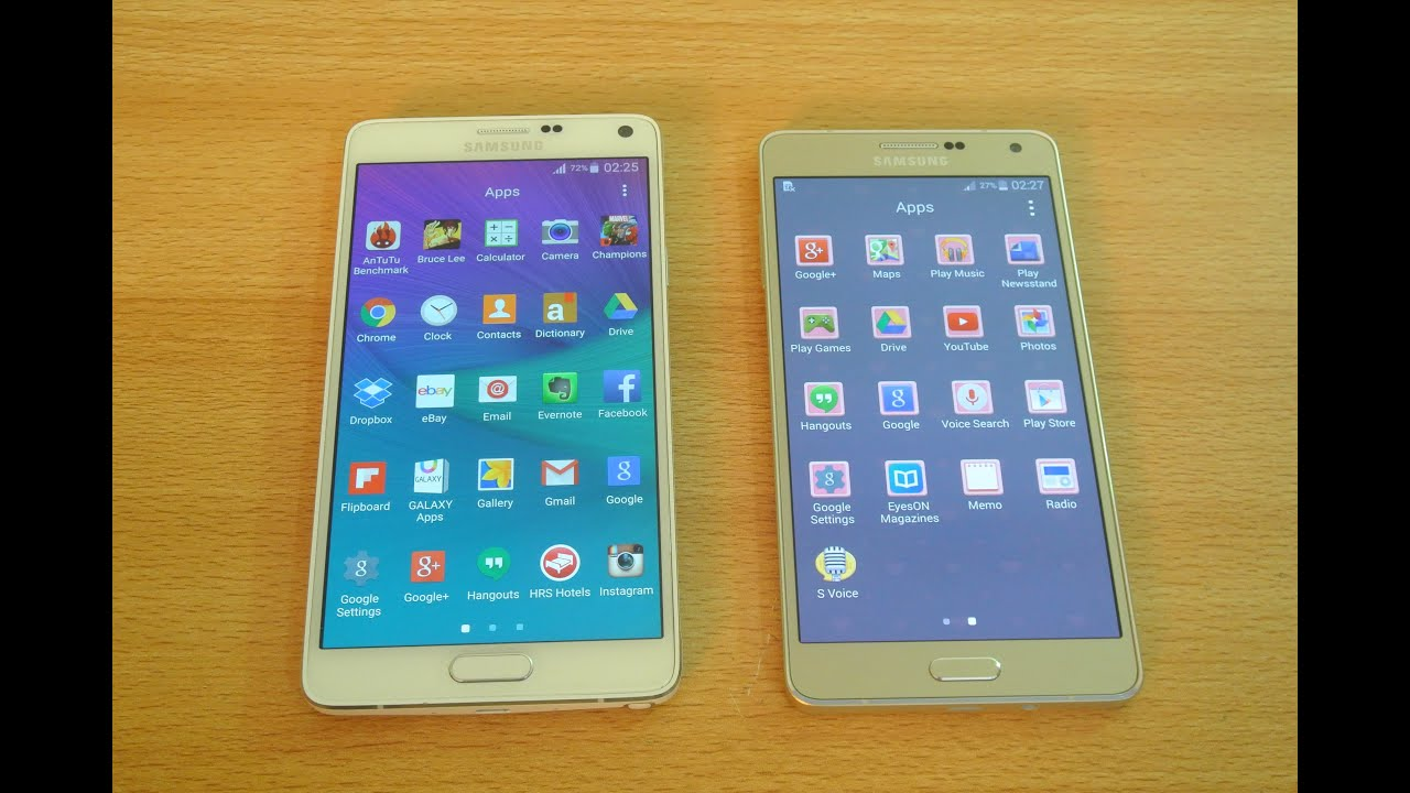 Descargar Samsung Galaxy A7 vs Samsung Galaxy Note 4 Apps Opening Speed Test HD para Celular  #Android
