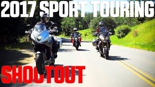 7. 2017 Sport Touring Shootout - BMW S1000XR vs. KTM Super Duke GT vs. MV Agusta Turismo Veloce   4K