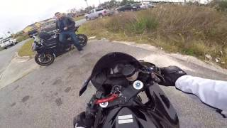 2. 2010 YAMAHA R6! |  MY BUDDY GOT A SUPERSPORT!