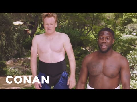 """Kevin Hart On """"What The Fit"""" & Sumo Wrestling With Conan  - CONAN on TBS"""