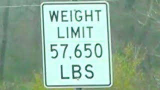 Magee (MS) United States  City pictures : Mississippi Low Weight Limit roads 57650 Lbs Trucking MAGEE MISS US 49