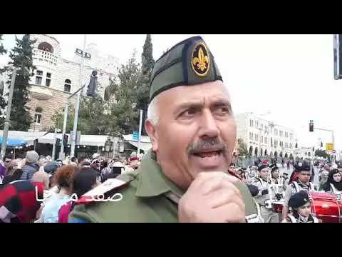 ماهر محيسن رئيس مفوضية القدس يتحدث عن عرض الاسراء والمعراج