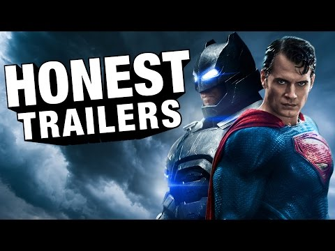 An Honest Trailer for Batman v Superman Dawn of