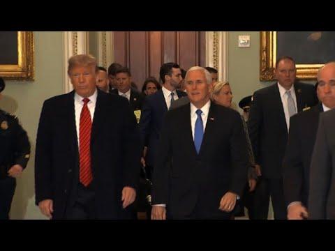 USA: »Reine Zeitverschwendung« - Trump verlässt Treffen mit Demokraten