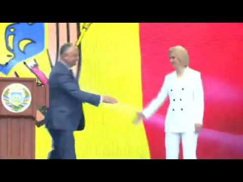 Președintele Moldovei a participat la ceremonia de inaugurare a bașcanului Găgăuziei