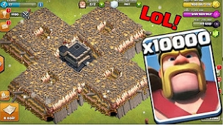 Video 10000 KINGS VS 500 Buildings | OMG | clash of clans MP3, 3GP, MP4, WEBM, AVI, FLV Oktober 2017