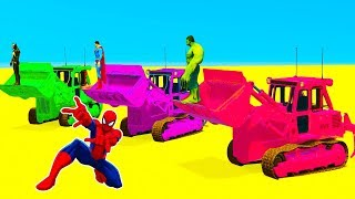 Fun Learn Colors Bulldozer Race with Superheroes Cartoon CarsLearn Colors Helicopters on Bus with Superheroes Cartoon Animationhttps://www.youtube.com/watch?v=oTdS0JypFHgLearn Colors With Soccer Balls for Children - Colors Balloons Ballshttps://www.youtube.com/watch?v=UqcSlE-NQo8Learn Colors for Kids with 3D Lightning McQueenhttps://www.youtube.com/watch?v=PB7xPmWeXtQOFFROAD TRUCK & FUN MONSTER TRUCK - Superheroes Cars Cartoonhttps://www.youtube.com/watch?v=aUJq_aDctu4Learn Colors Fun Cars w Superheroes Cartoon Animation for Babieshttps://www.youtube.com/watch?v=HptlIpaxHA4
