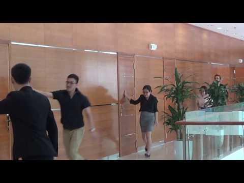 Các bước sơ tán khỏi tòa nhà – Handico Tower